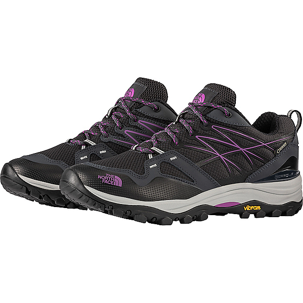 The North Face Hedgehog Fastpack GTX Shoe - Women's - 10/Ebony Grey Purple Flower, Ebony Grey Purple Flower, 600