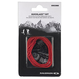 Salomon Quicklace Lace Kit, Red, 256