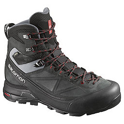 Salomon X Alp Mtn GTX Boot - Men's, Black-Asphalt-Quick, 256