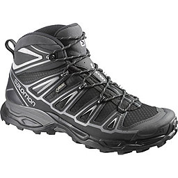 Salomon X Ultra Mid 2 GTX Boot - Men's, Black-Black-Aluminium, 256