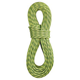 BlueWater 9.7mm Lightning Pro Dynamic Rope - Standard, Fluorescent-Sprout, 256