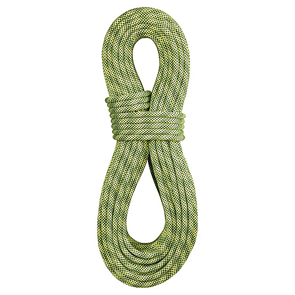 BlueWater 9.7mm Lightning Pro Dynamic Rope - Standard - 70M/Fluorescent-Sprout, Fluorescent-Sprout, 600