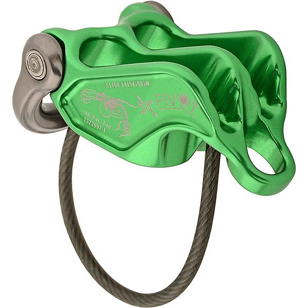 DMM Pivot Belay Device - Green-Titanium, Green-Titanium, 600
