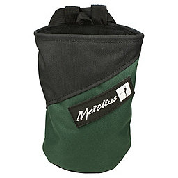 Metolius Competition Stripe Chalk Bag, Green, 256