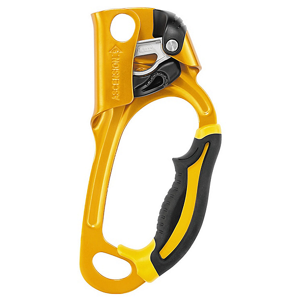 Petzl Ascension Ascender - LEFT/Gold, Gold, 600