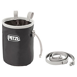 Petzl Bandi Chalk Bag, Gray, 256