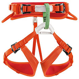 Petzl Macchu Harness - Youth, Coral, 256