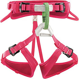 Petzl Macchu Harness - Youth, Raspberry, 256