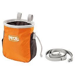 Petzl Saka Chalk Bag, Orange, 256
