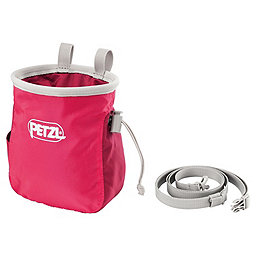Petzl Saka Chalk Bag, Raspberry, 256