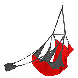 Eagles Nest Outfitters Air Pod Hanging Chair, Red-Charcoal, 256
