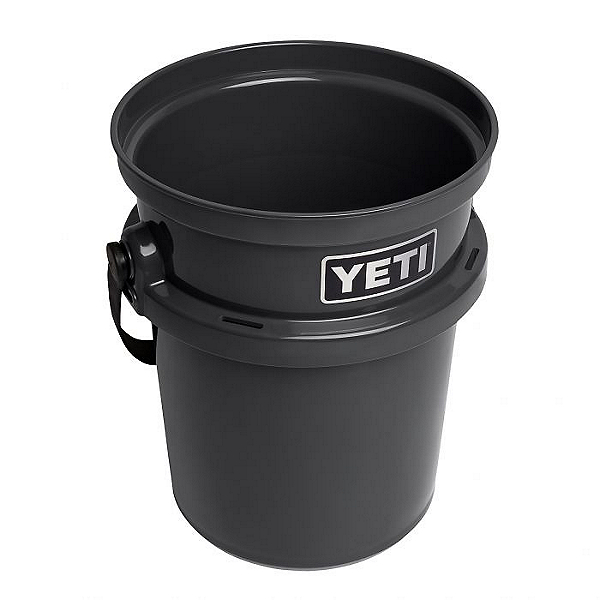 Yeti LoadOut Bucket - 5 Gallon, Charcoal, 600