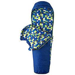 Marmot Kid's Trestles +30 Sleeping Bag Youth, Dark Azure Left Zip, 256