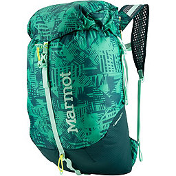 Marmot Kompressor Pack, Turf Green-Deep Teal, 256