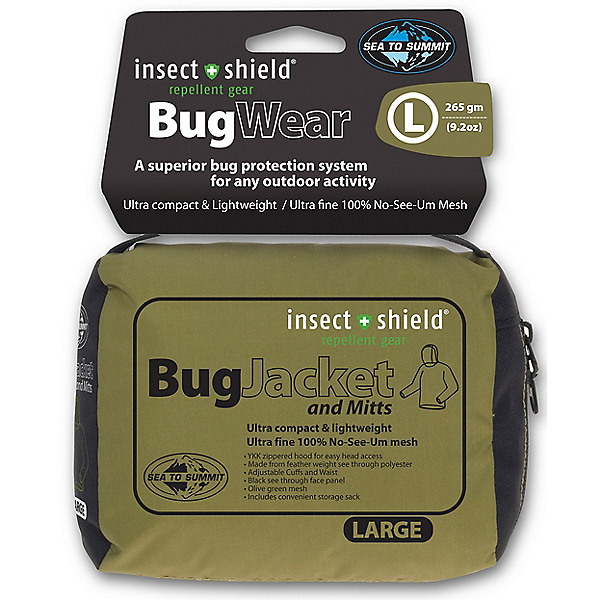 Sea To Summit Bug Jacket & Mitts Insect Shield, , 600