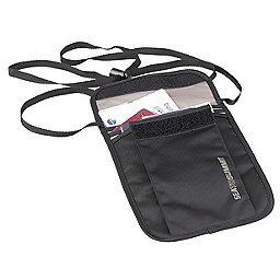 Sea To Summit Travelling Light Neck Pouch, Black, 256