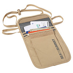 Sea To Summit Travelling Light Neck Pouch, Sand, 256
