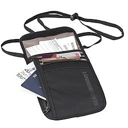 Sea To Summit Travelling Light Neck Wallet, Black, 256
