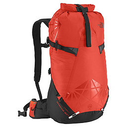 The North Face Shadow 30+10 Backpack - Men's, Acrylic Orange-Power Orange, 256