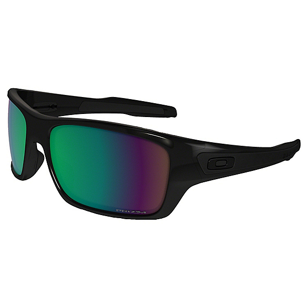Oakley Turbine Sunglasses, Pol Black w-Prizm Shal H20 Pol, 600