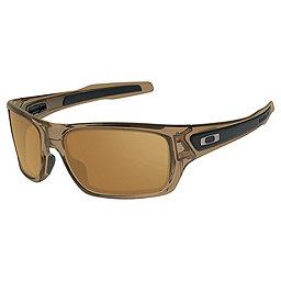 Oakley Turbine Sunglasses, Brown Smoke w-Bronze, 256