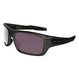 Oakley Turbine Sunglasses, Woodgrain w-Prizm Daily Plrzd, 256