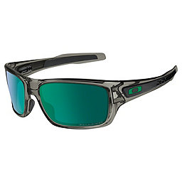 Oakley Turbine Sunglasses, Grey Smoke w-Jade IridiumPolar, 256