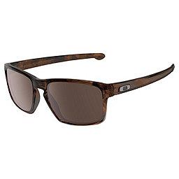Oakley Silver Sunglasses, Matte Brn Tort w-Wrm Gry, 256
