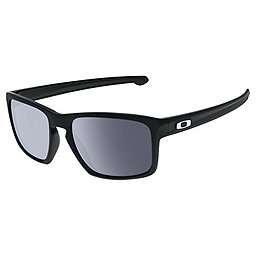 Oakley Silver Sunglasses, Matte Black w-Grey, 256