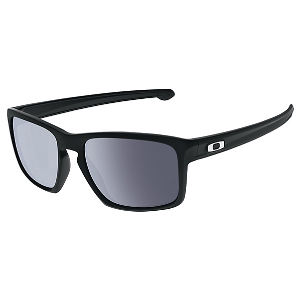 Oakely Silver Sunglasses - Matte Black w-Grey, Matte Black w-Grey, 600
