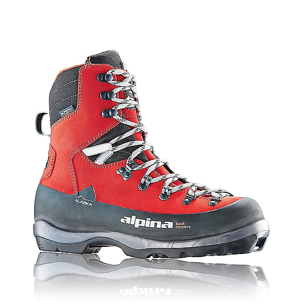 Alpina Alaska NNN BC Ski Boot - 40/Deep Red, Deep Red, 600