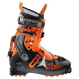 Atomic Backland Carbon Ski Boot, Black-Orange, 256