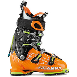 Scarpa FREEDOM RS Ski Boot, Orange-Black, 256