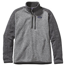 Patagonia Better Sweater 1/4 Zip - Men's, Nickel w-Forge Grey, 256