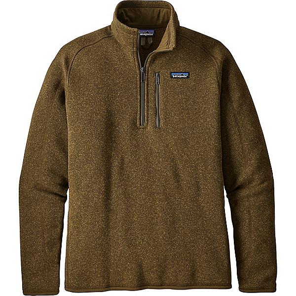 Patagonia Better Sweater 1/4 Zip - Men's - LG/Sediment, Sediment, 600