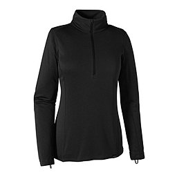 Patagonia Cap MW Zip Neck - Women's, Black, 256