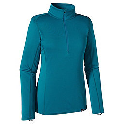 Patagonia Cap MW Zip Neck - Women's, Underwater Blue, 256