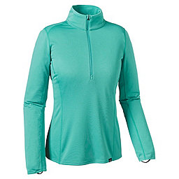 Patagonia Cap MW Zip Neck - Women's, Howling Turquoise, 256