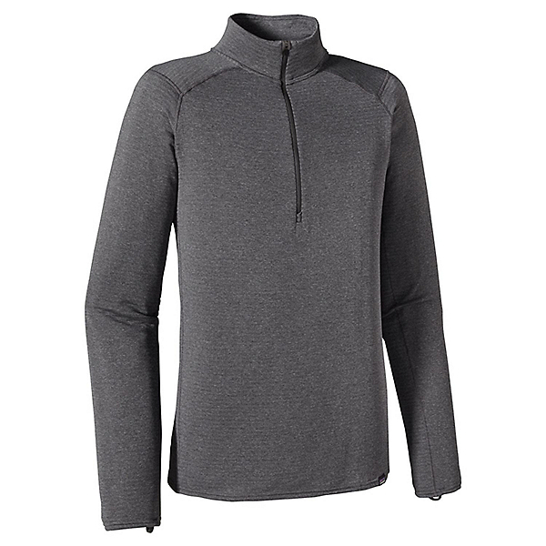 Patagonia Cap TW Zip Neck - Men's - MD/Forge Grey-Feather Grey, Forge Grey-Feather Grey, 600