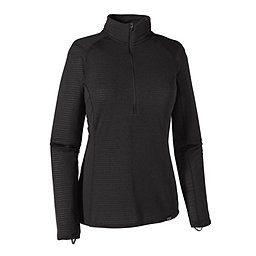 Patagonia Cap TW Zip Neck - Women's, Black, 256
