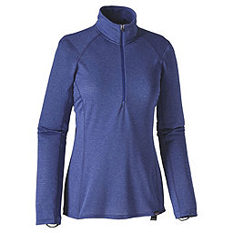Patagonia Cap TW Zip Neck - Women's, Lupine-Harvest Moon Blue X-Dye, 256