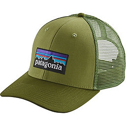 Patagonia P6 Trucker Hat, Crag Green, 256