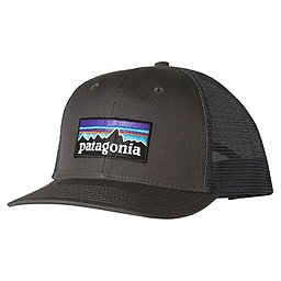 Patagonia P6 Trucker Hat, Forge Grey, 256