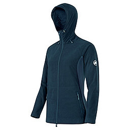 Mammut Niva Hooded Midlayer Jacket - Women's, Dark Space Melange, 256