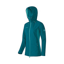 Mammut Niva Hooded Midlayer Jacket - Women's, Dark Pacific Melange, 256