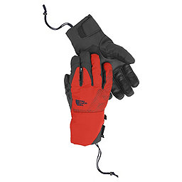 The North Face Guardian Etip Glove - Men's, Acrylic Orange-Asphalt Grey, 256