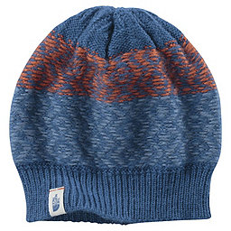 The North Face Tribe N True Beanie, Dish Blue-Orange Rust, 256