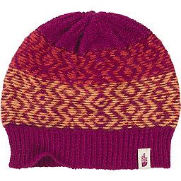 The North Face Tribe N True Beanie, Dramatic Plum-Melon Red, 256