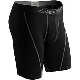 Ex Officio Give-N-Go Sport Mesh 9 BoxerBrief - Men's, Solid Black, 256