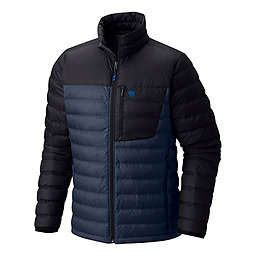 Mountain Hardwear Dynotherm Down Jacket - Men's, Zinc-Black, 256